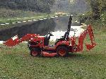 2012 Kubota BX25 TLB 23HP HST