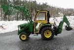 2004 John Deere 4310 4x4 Loade