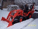2009 Kubota BX25D 4X4 Tractor